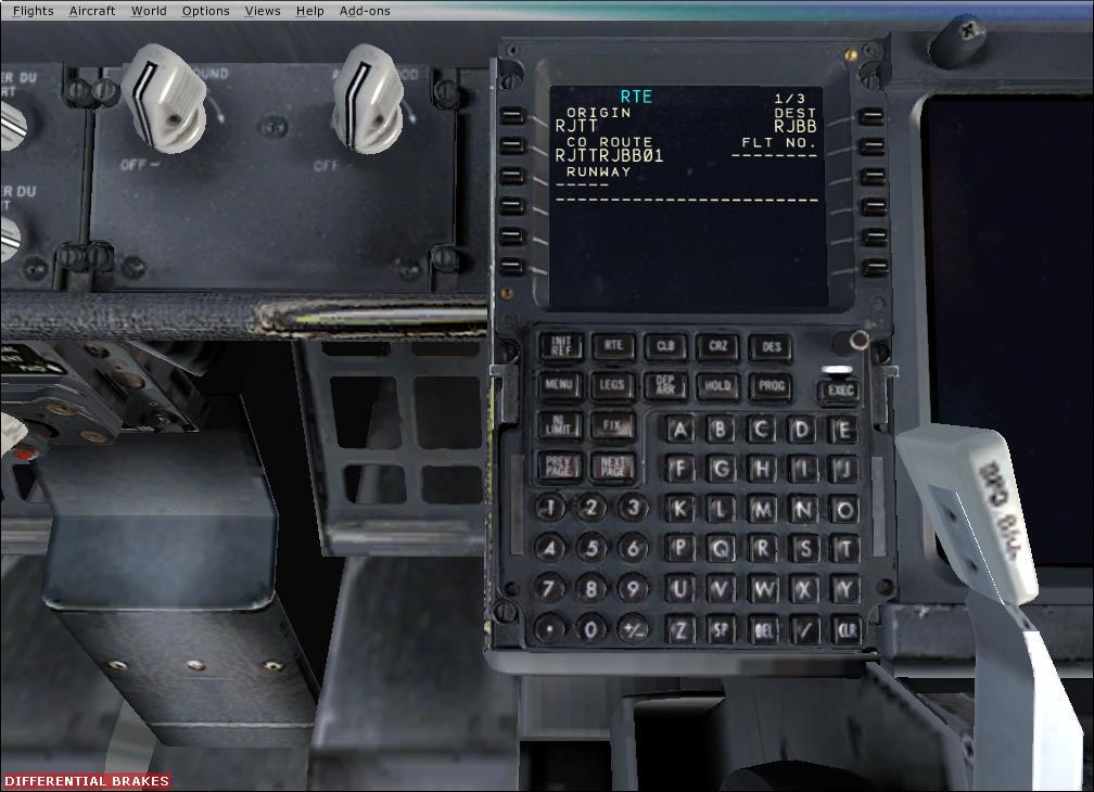 PFPX その5 PMDG B737へのルート取りこみ | Simulator Laboratory