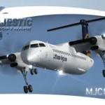 Majestic Software Dash 8 Q400 その3 簡易離着陸訓練のフライトプラン