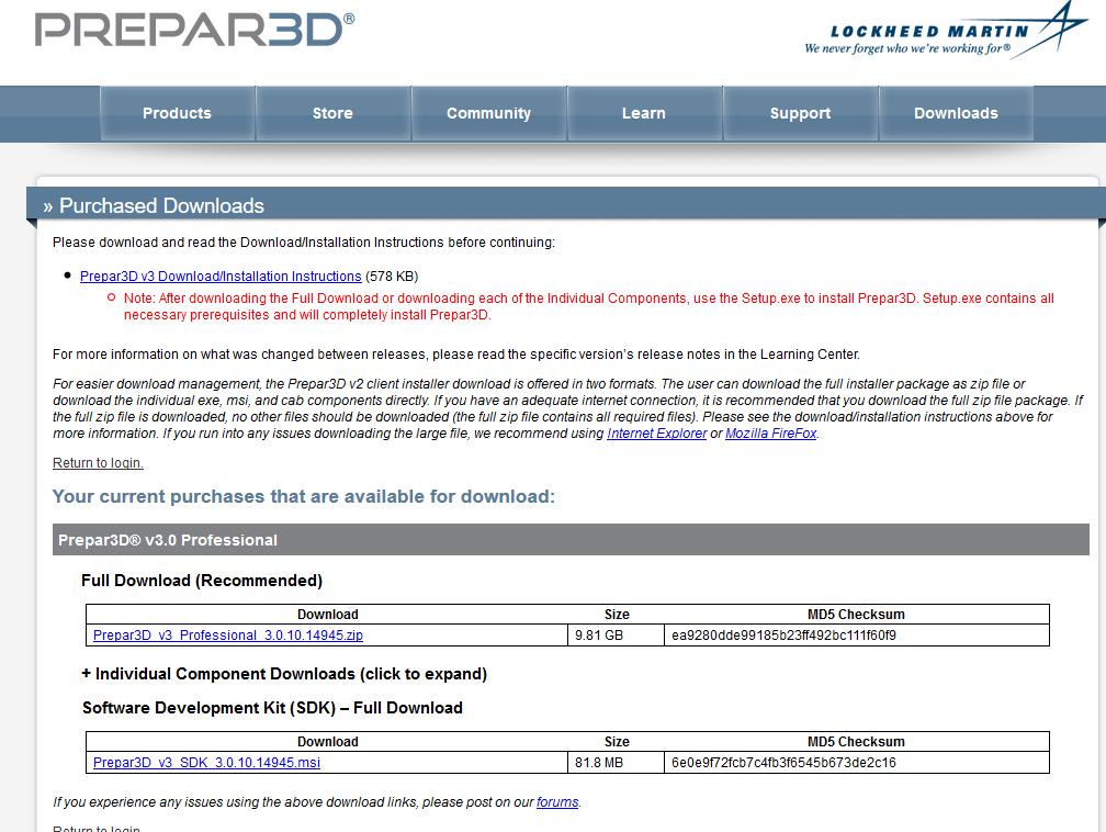 Prepar3D v3 その1 紹介・購入・導入編 | Simulator Laboratory