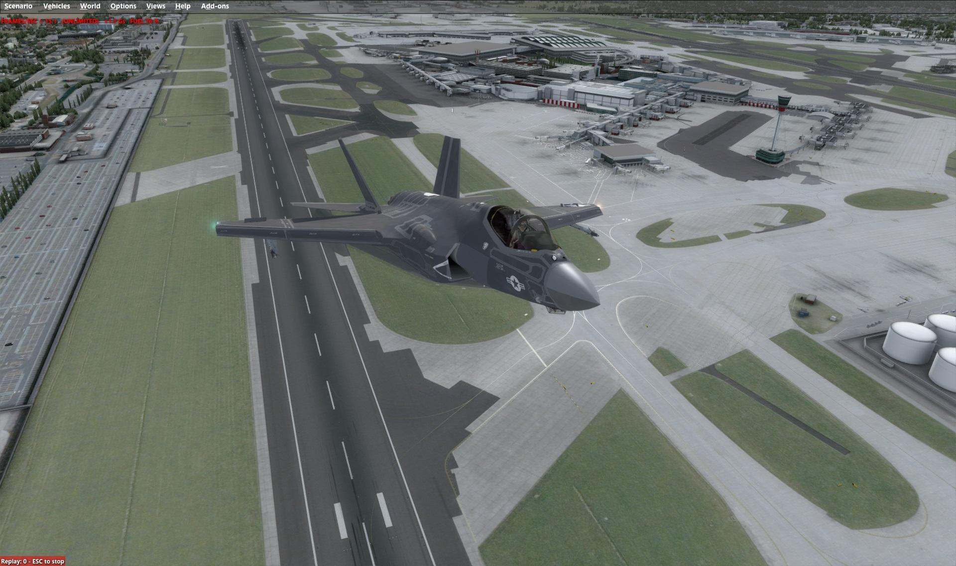 機体アドオン その7「INDIAFOXTECHO – F-35 LIGHTNING II