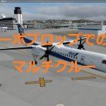Majestic Software Dash 8 Q400 その3 PRO EDITIONとマルチクルー